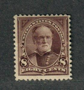 US Sc#257 M/HH/F+, Cv. $160