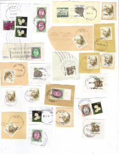 Norway – mix #3 of 1990s postmarks