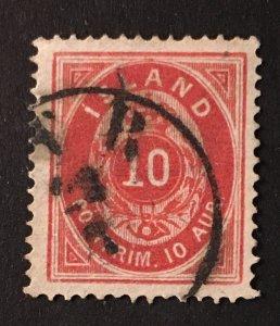 Iceland Sc. #11, used