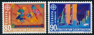 Europa CEPT - Liechtenstein MNH Set Christopher Columbus (1992)