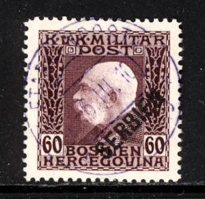 Austria Serbia 1916 Scott #1N15 used
