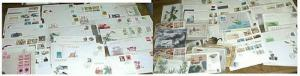 CHINA PRC 512 FDC 1980's-2000's CACHET UNADDRESSED & 150 MAXICARDS 1980's-1990's