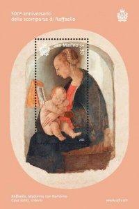 Stamps of San Marino 2020. - 500th anniversary of the death of Raffaello