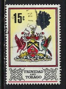 TRINIDAD & TOBAGO 151 VFU ARMS Z2217-10