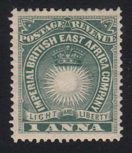 British East Africa - 1890 - SC 15 - H