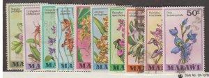 Malawi Scott #327-336 Stamps - Used Set