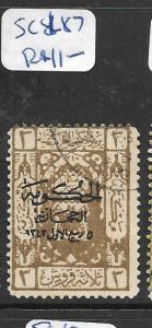 SAUDI ARABIA (PP1004B)  SC L87  VFU