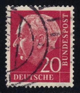 Germany #710 Theodor Heuss, used (0.20)