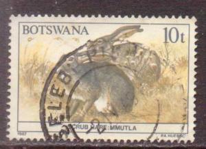 Botswana   #411  used  (1987)