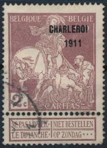 Belgium stamp Fight against tuberculosis Used 1911 Health WS223918