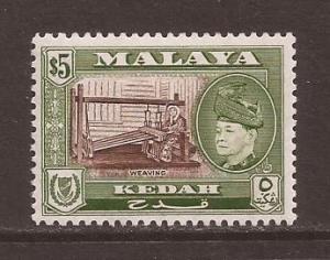 Malaya-Kedah scott #93 m/lh stock #17437