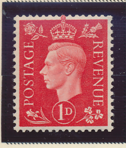 Great Britain Stamp Scott #236a, Mint Never Hinged, Good Centering - Free U.S...