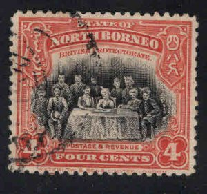 North Borneo Scott 140 Used stamp