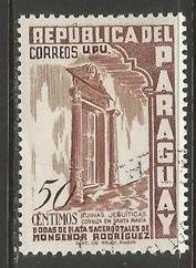 PARAGUAY 493 VFU O556-2