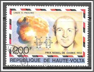 Upper Volta #443 Nobel Prize Winners CTO