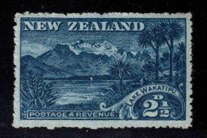 New Zealand Scott 111 MNH** Lake Wakatipu stamp WMK 61