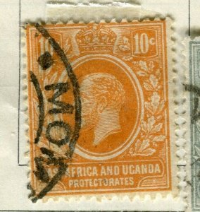 BRITISH KUT; 1912 early GV issue fine used 10c. value
