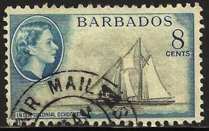 Barbados 1953 Scott# 241 Used