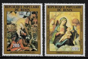 Benin #C303-4 MNH Set - Paintings