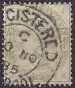 Great Britain #103 F-VF Used  CV $210.00