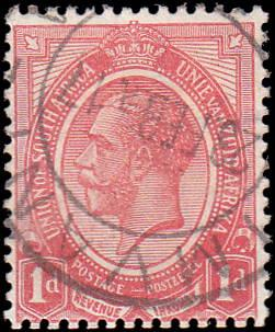 South Africa Scott 3 George V Used
