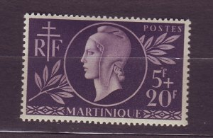 J23810 JLstamps 1944 french martinique set set of 1 mnh #b11 red cross