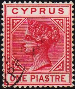 Cyprus. 1881 1pi S.G.33 Fine Used