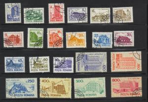 Romania #3664-84 F-VF CTO. CV $10.55 #1