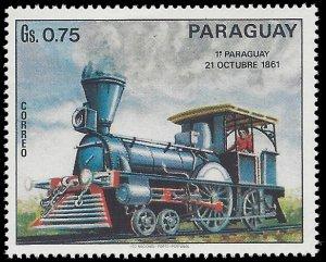Paraguay #1401 1972 Mint H