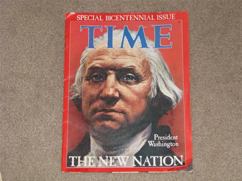 TIME, 1976-SPECIAL BICENTENNIAL ISSUE, THE NEW NATION SEPT. 26.1789