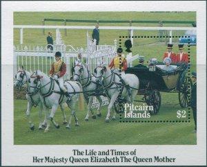 Pitcairn Islands 1985 SG272 Queen Mother MS MNH