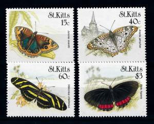 [71074] St. Kitts 1990 Insects Butterflies  MNH