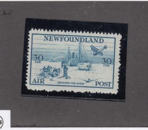 NEWFOUNDLAND # C15 VF-MNH SPOTTING THE HERD CAT VALUE $81+