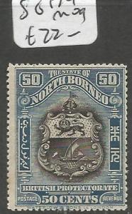 North Borneo SG 179 MOG (9cmp)