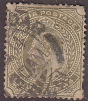 India 66 Hinged Used 1902 King Edward VII