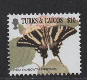 $Turks+Caicos Sc#1366 M/NH/VF, high value, Cv. $22.50
