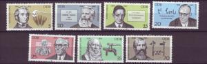 J20535 Jlstamps 1978 germany ddr set mnh #1926-32 famous germans