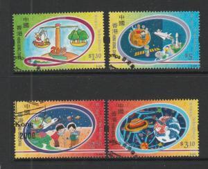 Hong Kong 2000 New Millenium VFU SG 1002/5