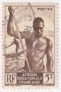 French Equatorial Africa, Scott #179, Used