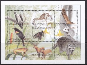 Mozambique, Fauna, Animals, Birds / MNH / 2002