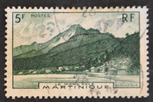 DYNAMITE Stamps: Martinique Scott #227 – USED