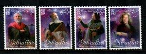 Gibraltar #1198-1201  MNH  Scott $11.00