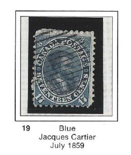 Canada 19 Used Tough Stamp CV$200