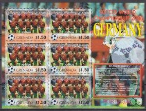 2006 Grenada 5721KL 2006 FIFA World Cup Germany( Portugal ) 9,00 €