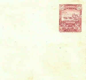MEXICO Cover 10c MAILCOACH Die Unused Postal Stationery Envelope {samwells}MA281