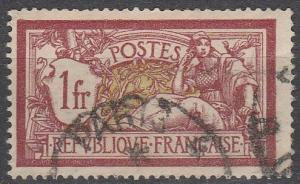 France #125 F-VF Used   (S7470)