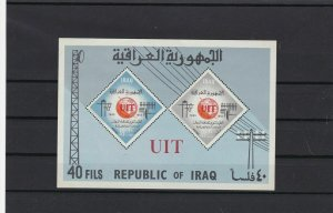 iraq mint never hinged stamps sheet ref r9562