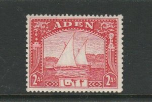 Aden, 1937 Dhow 2As MM SG 4
