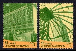 UN Vienna 275-276 MNH VF
