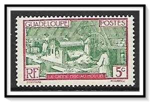 Guadeloupe #100 Sugar Mill MNH